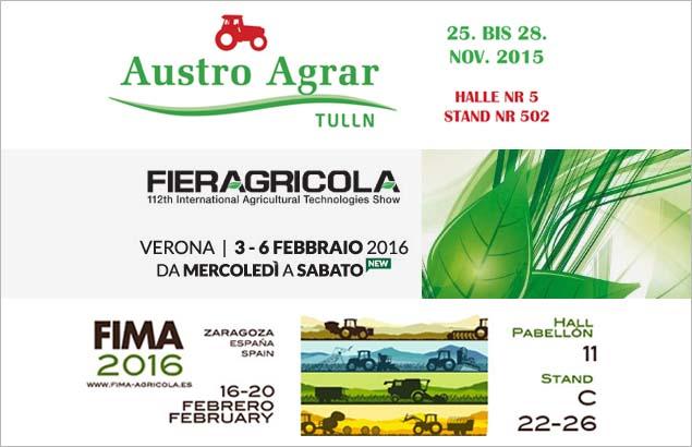 Saremo presenti a Fima 2016 - Austro Agrar e Fieragricola