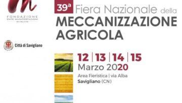 39° FIERA NAZIONALE DELLA MECCANIZZAZIONE AGRICOLA
